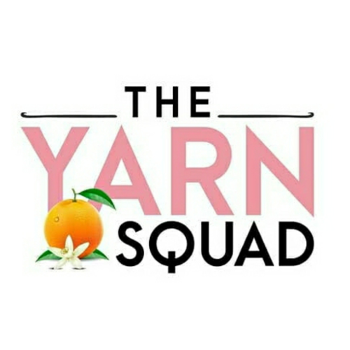 The Yarn Squad logo before cleanup