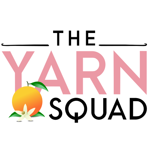 The Yarn Squad logo after cleanup