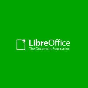 Green LibreOffice logo